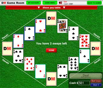 Free Online Bunny Poker